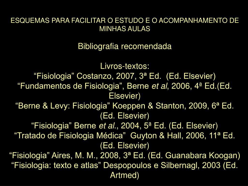 ESQUEMAS PARA FACILITAR O ESTUDO E O ACOMPANHAMENTO DE MINHAS AULAS