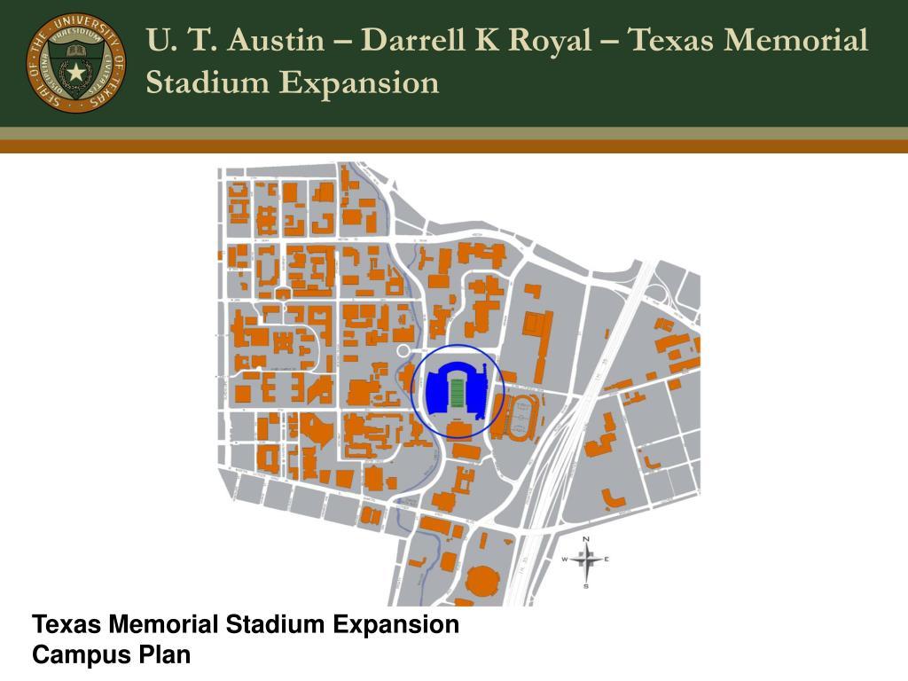 u t austin darrell k royal texas memorial stadium expansion l.
