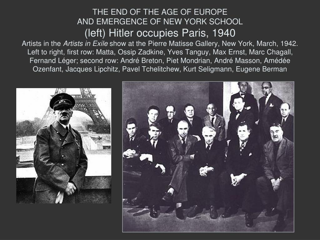 THE END OF THE AGE OF EUROPE