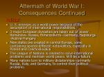 aftermath of world war i consequences continued4