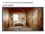 a cubiculum in a villa at boscoreale near pompeii
