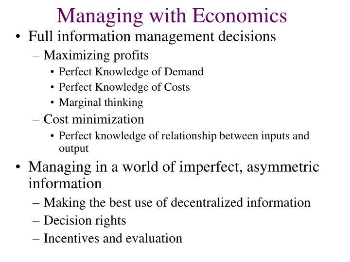 Managing with economics3