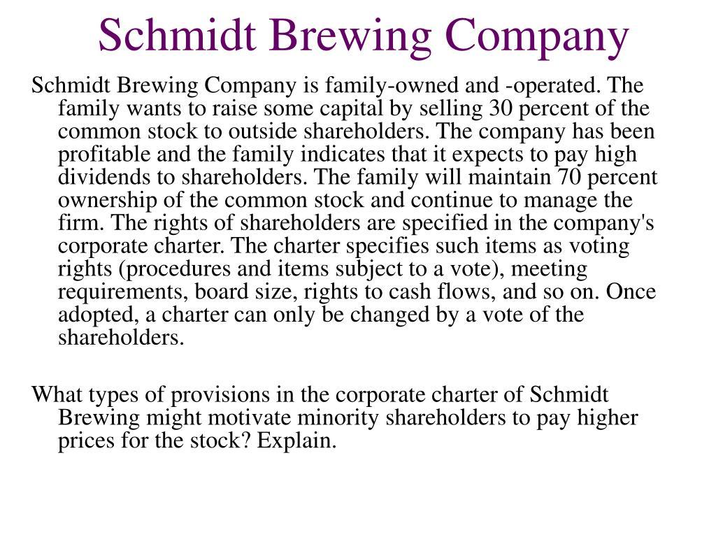 Schmidt Brewing Company