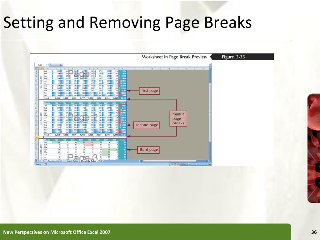 Setting and Removing Page Breaks