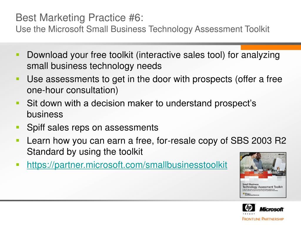 Best Marketing Practice #6: