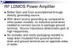 rf ldmos power amplifier8