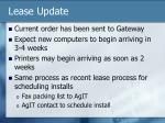 lease update