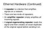 ethernet hardware continued11