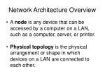 network architecture overview4