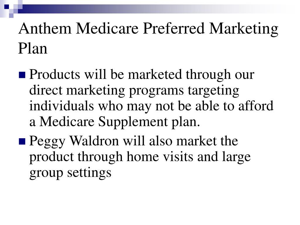 PPT - Anthem Medicare Preferred PowerPoint Presentation ...