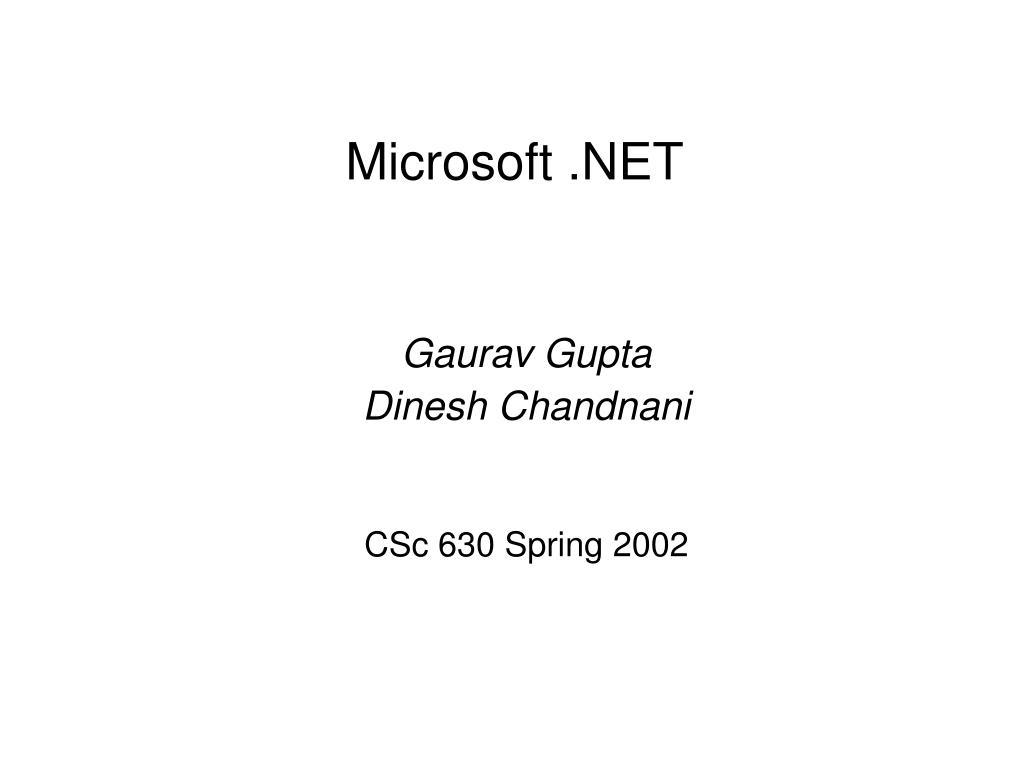 microsoft net l.