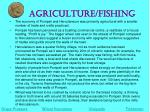 agriculture fishing