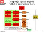 regional transformation fort belvoir command and control