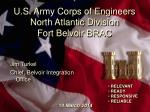 u s army corps of engineers north atlantic division fort belvoir brac