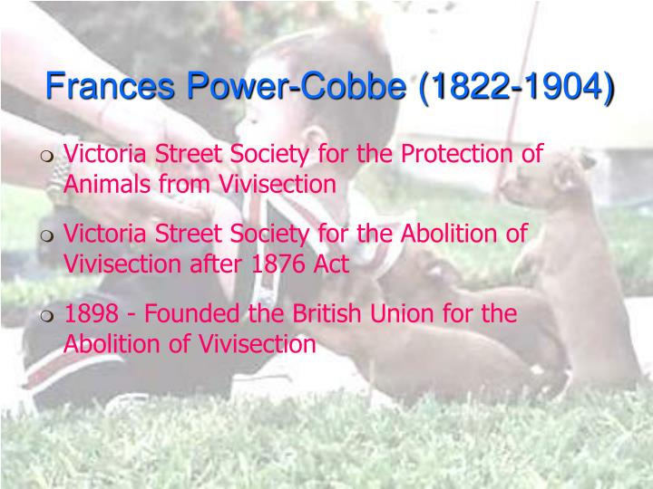 Frances Power-Cobbe (1822-1904)