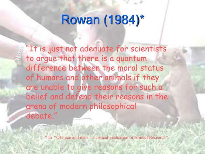 Rowan 1984