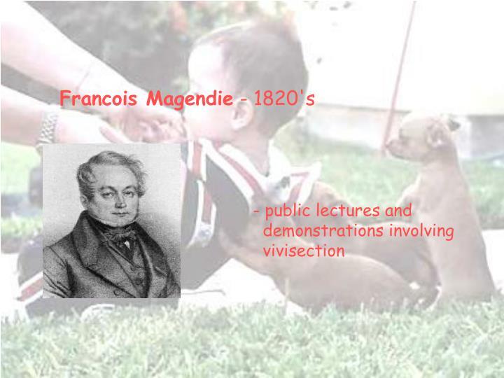 Francois Magendie