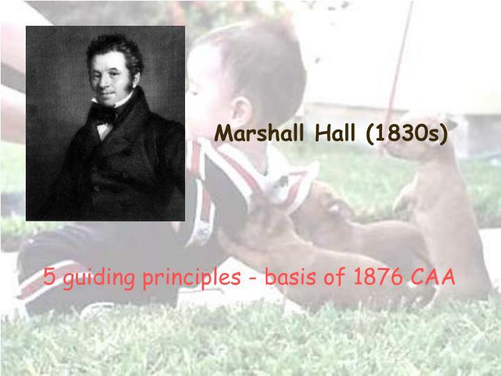Marshall Hall (1830s)