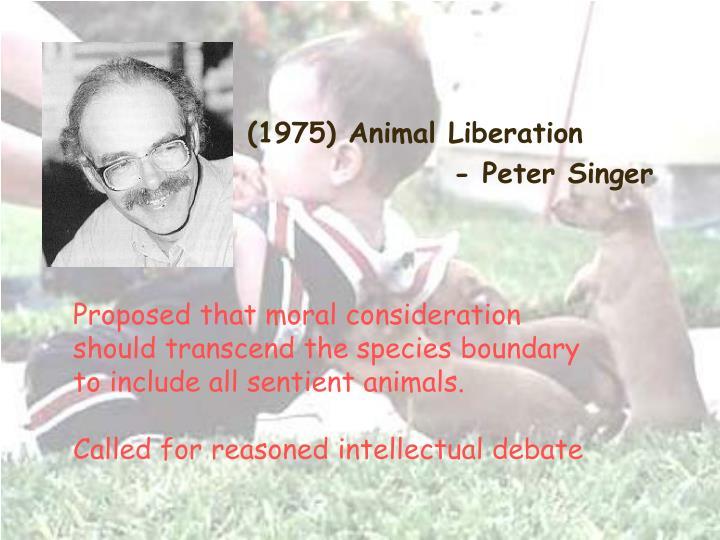 (1975) Animal Liberation