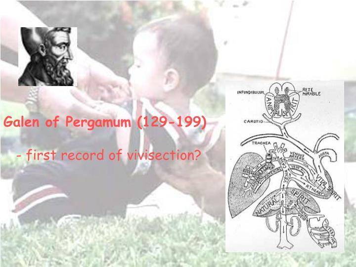 Galen of Pergamum (129-199)
