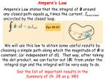 ampere s law