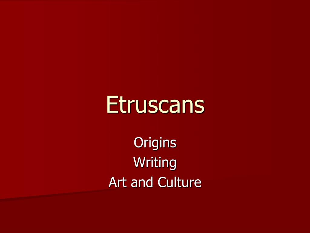 etruscans l.
