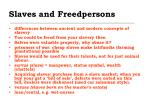 slaves and freedpersons