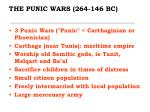 the punic wars 264 146 bc