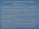 culturally competent strategies national data kidscount and 2000 census figures