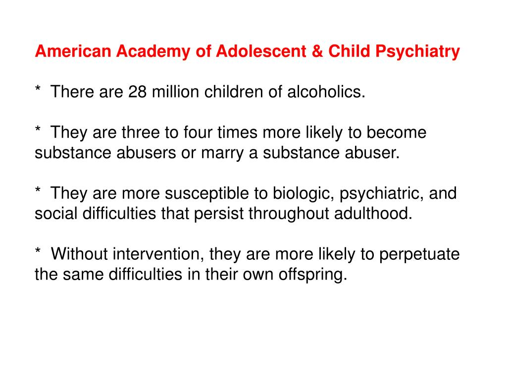 American Academy of Adolescent & Child Psychiatry