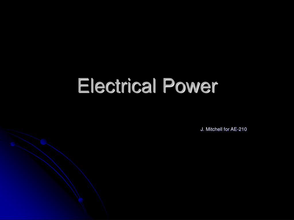 electrical power l.