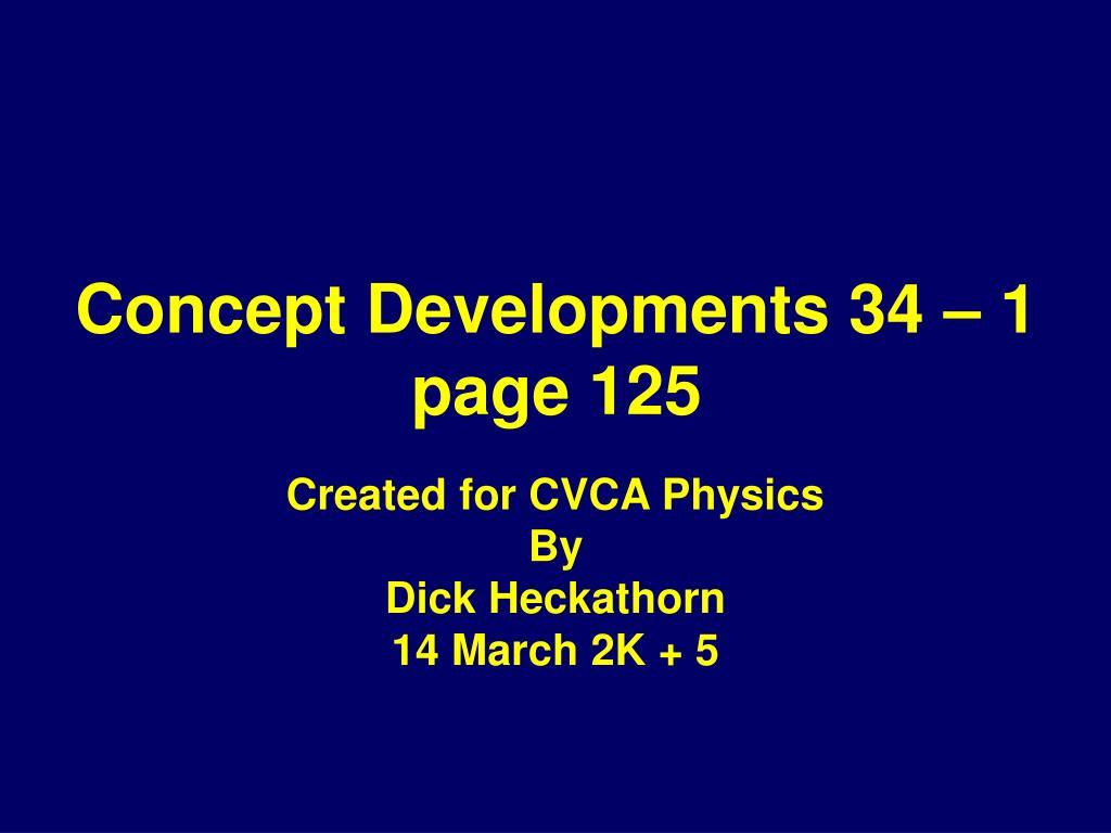 concept developments 34 1 page 125 l.