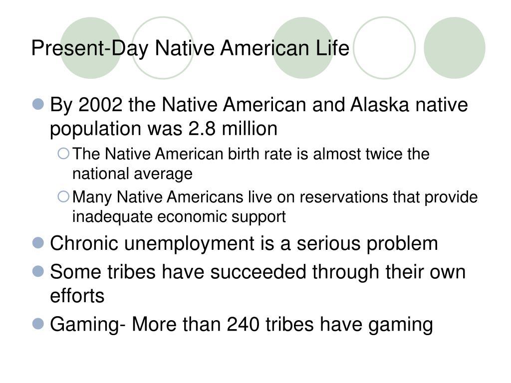 Present-Day Native American Life