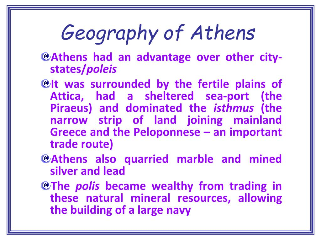 Geography of Athens