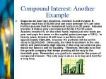 compound interest another example