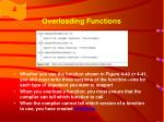 overloading functions66