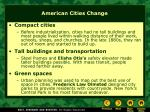 american cities change