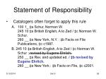 statement of responsibility55