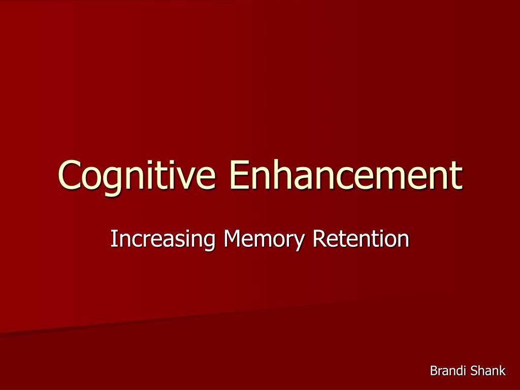 cognitive enhancement l.