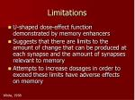 limitations5