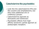 catecholamine like psychedelics