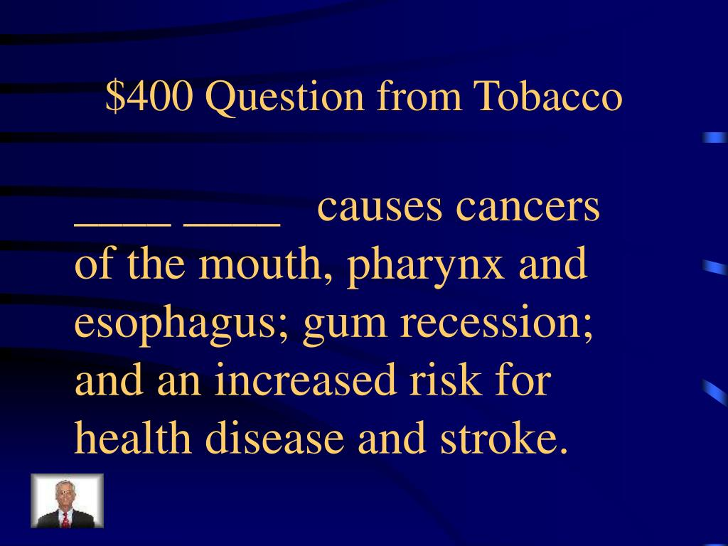$400 Question from Tobacco