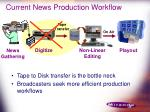 current news production workflow17