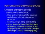 performance enhancing drugs18