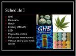 schedule i7