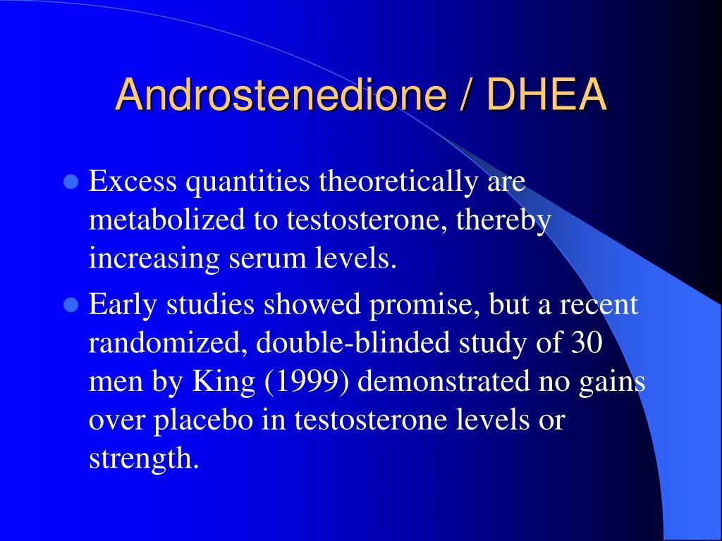 Androstenedione / DHEA