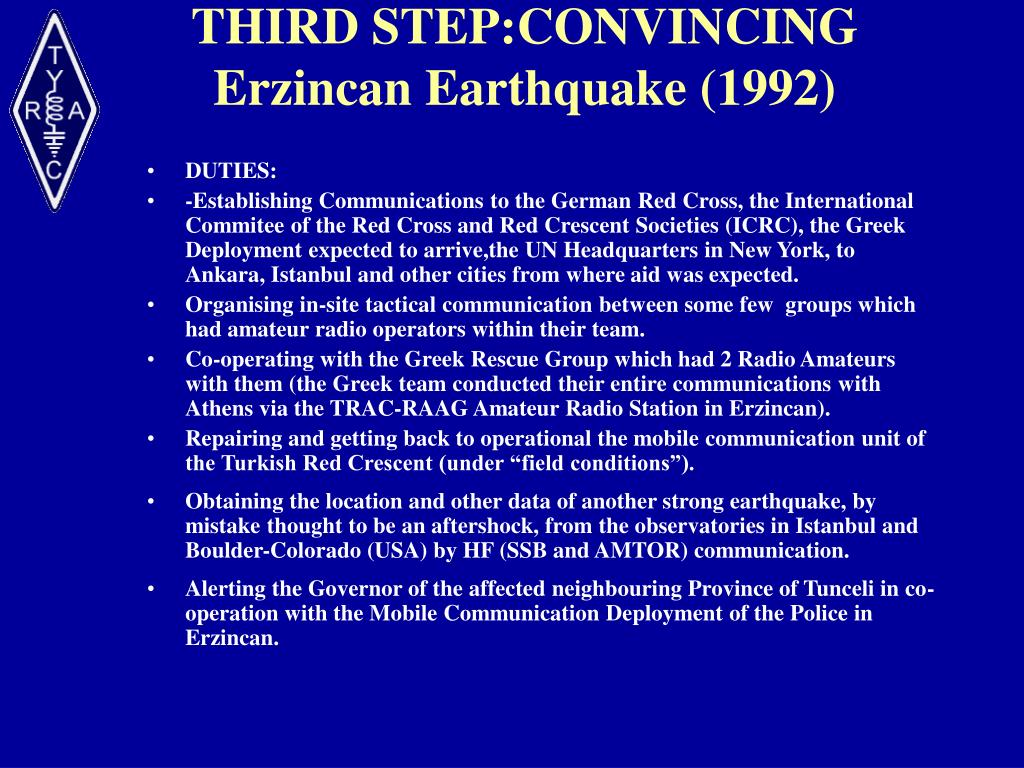 THIRD STEP:CONVINCING
