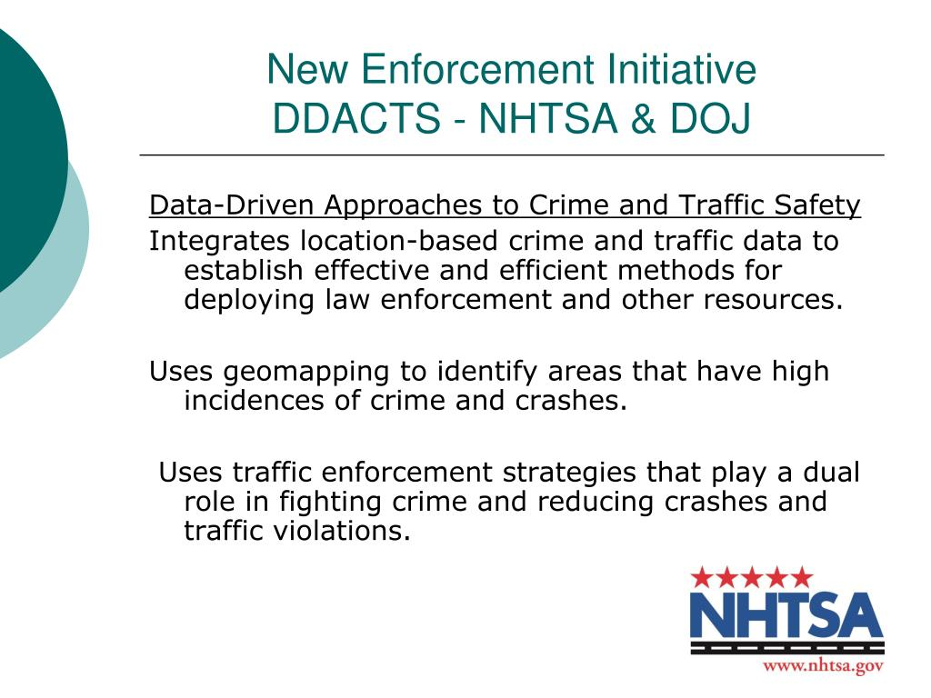 New Enforcement Initiative