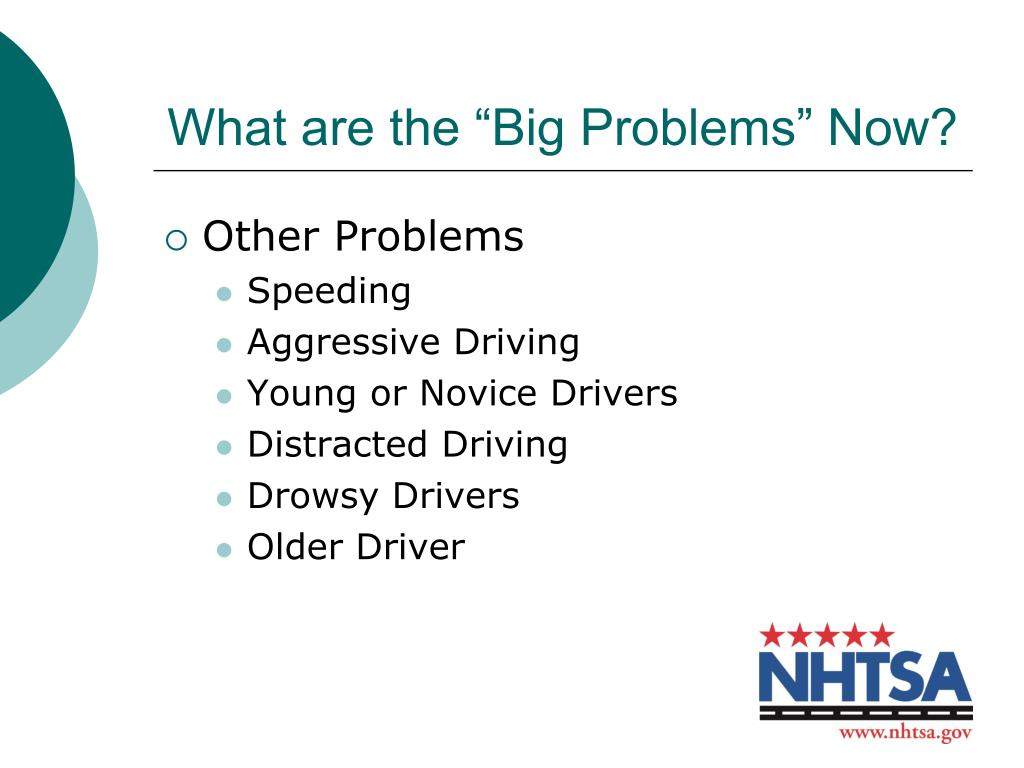 "What are the ""Big Problems"" Now?"