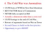 4 the cold war was anomalous